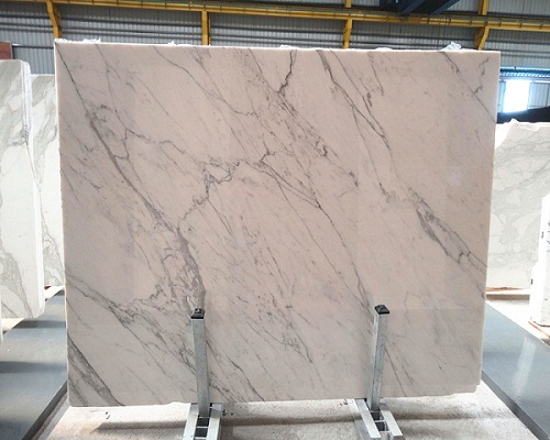 2017 New White Calacatta Marble For Kitchen Counter