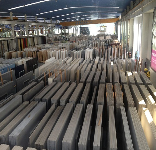 Do you know how quartz slabs produced in factory??