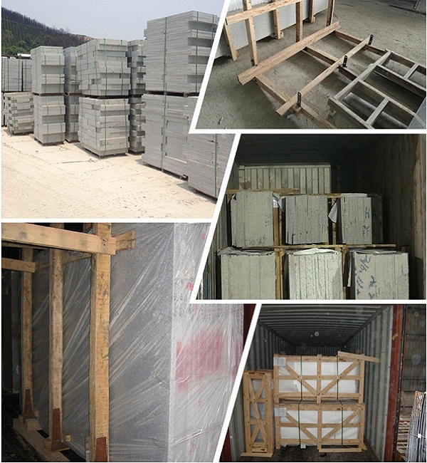 Santa cecilia gold granite packing