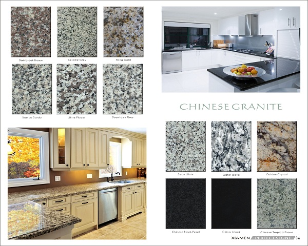 New granite countertop round edge for kitchen
