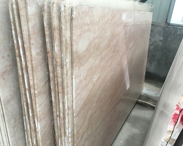 Inexpensive cherry blossom marble floor & baking slab for slabs