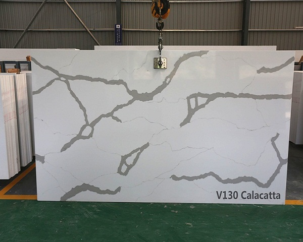 Calacatta gold marble kitchen counter tops