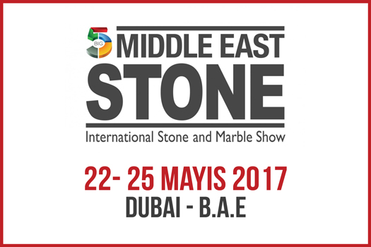 Perfect Stone To Middle East Stone Fair 2017 in Dubai .