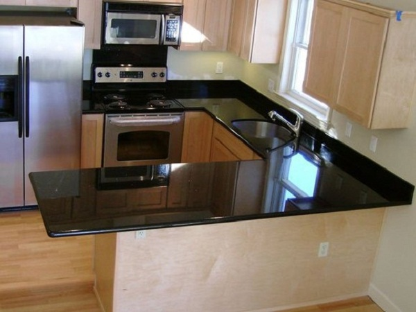 Quality shanxi absolute black kitchen countertops for sales