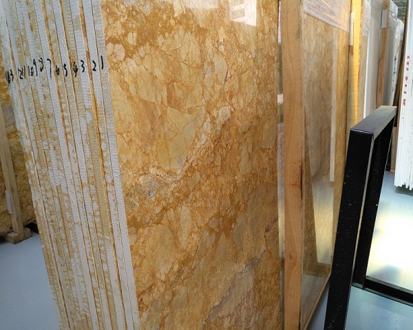 New Gold Phoenix Marble Bathroom Countertop Slab Prices