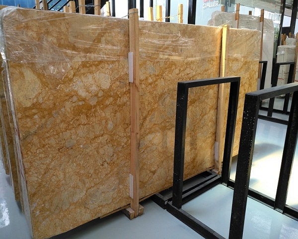 New gold phoenix marble for kitchen top flooring