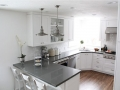 Crystal Dark Grey Quartz Colored Countertops