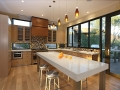 Shell White Quartz Countertop For Kitchen Island Top