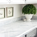 Quartz  white kicthen countertop