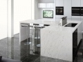 Chinese White Quartz For Kitchen Countertops
