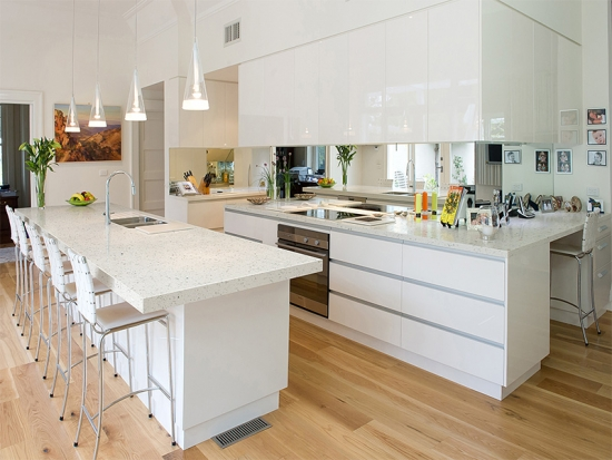 Crystal White Quartz Colors For Countertops