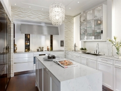 Engineered White Quartz Countertop