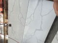 Calacatta gold quartz  tiles cut to size