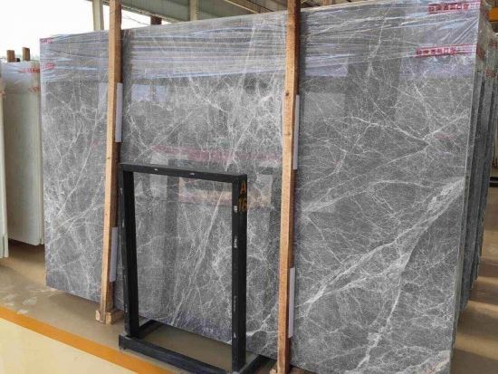 Countertop Factory : Countertop Factory: Buy Hermes Grey Marble Cheap Slab For Countertops ...