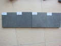 Wall material shanxi black unpolished granite for sale