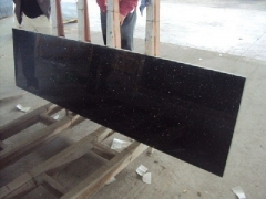 black granite wall tiles