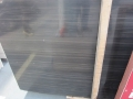 Natural black wooden marble slab to wall decor