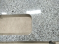 China best priced granite439 vanitytops with single sink