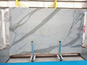 white marble with gray veins