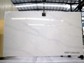 Best quality fake clear calacatta quartz for countertop