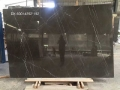 Black & grey petero marble slab to vanity top bathroom