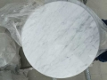 25+ Italian carrara dining table long / round marble top