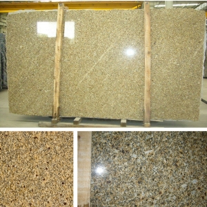 giallo jasmine granite slab