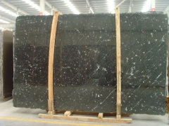 Brazil black granite slab